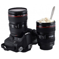 Fashion Camera Stainless Steel Coffee Cup