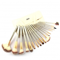 Beautiful Makeup Cosmetic 18 pcs Brush Set Kit with Pounch Bag