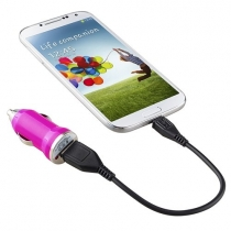Universal Mini USB Car Charger Adapter