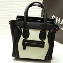Elegant Liche Pattern Smile Face Hangbag Shoulder Bag