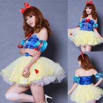 Cosplay Snow White Clothing Anime Performance Halloween Costume