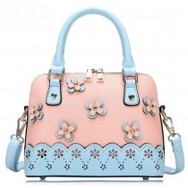 Fashion Floral Print Handbag with Shoulder Strap