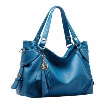 Fashion Tassels Solid Color Shoulder Messenger Bag