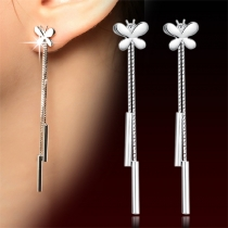 Fashion Style Butterfly Tassel Earrings