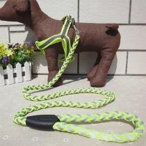 5 Colors Adjustable Reflective Nylon Pets Harness Dog Collar