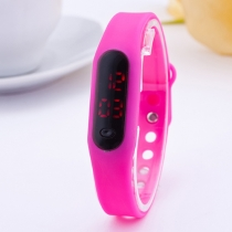 Multi Colors Sport Style Silicone Touch Screen Digital LED Watches
