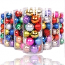 Colorful Chrismas Balls Chrismas Decorations