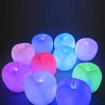 Cute Apple-shaped Colorful Nightlight