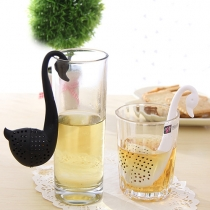 Creative Hollow Out Swan-shaped Tea Strainer