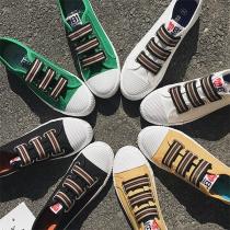 Fashion Flat Heel Round Toe Canvas Shoes