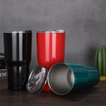 Fashion Solid Color Stainless Steel Vacuum Cup