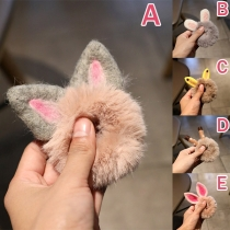 Cute Cartoon Shaped Plush Hair Band