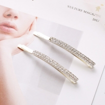 Fashion Rhinestone Inlaid Hairpin