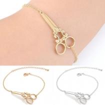 Creative Style Scissors Bracelet