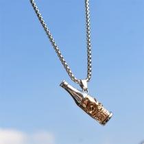 Creative Style Wine Bottle Pendant Necklace