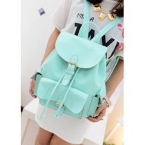 Sweet Candy Mint Green Backpack