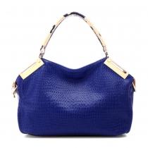 Gorgeous Stylish Diamond Check Emboss Handbag Shoulder Bag
