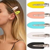 Fashion Candy Color Duckbilled Hair Pin 5 piece/Set