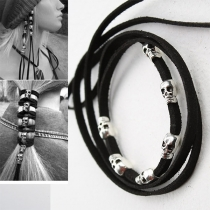 Retro Style Skull Head Hair Accessories