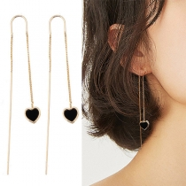Fashion Hear Pendant Ear-line